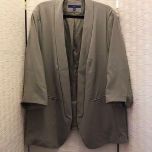 2X Apt 9 Grey Suit Jacket Blazer